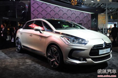 Citroen DS5 China