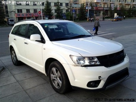 new Dodge Journey testing in China
