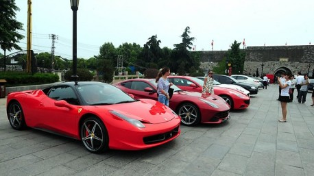 Ferrari recall China