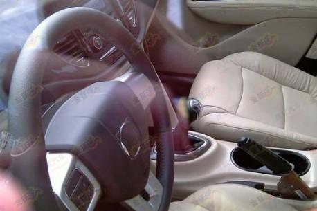 Fiat Viaggio testing in China