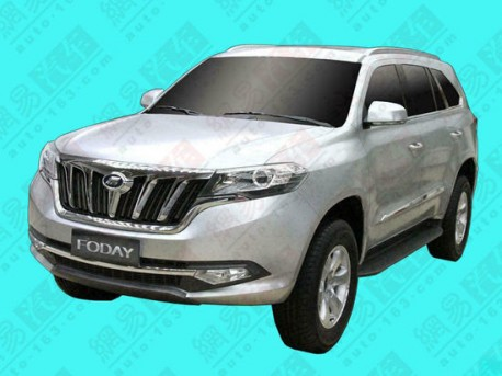 Foday SUV China
