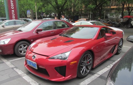 Lexus LFA China