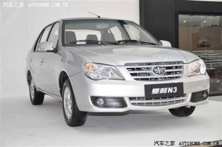 New Xiali N3 China