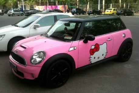 Pink Hello Kitty Mini