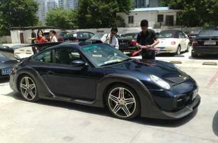 Porsche 911 tuning China