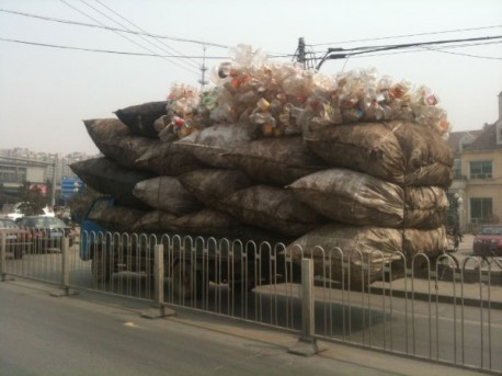 overloaded truck China