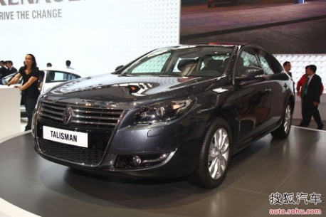 renault talisman tries its magic in china. Black Bedroom Furniture Sets. Home Design Ideas