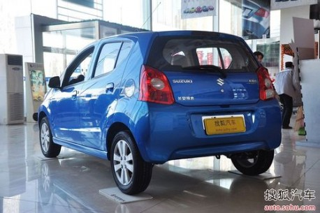 Suzuki Alto in China