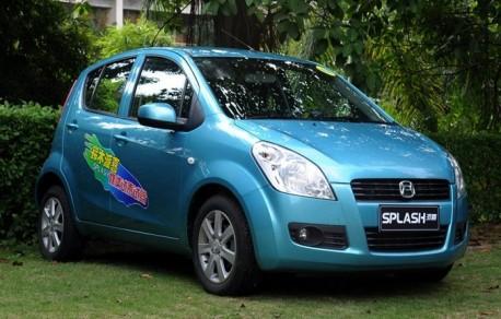 Suzuki Splash China