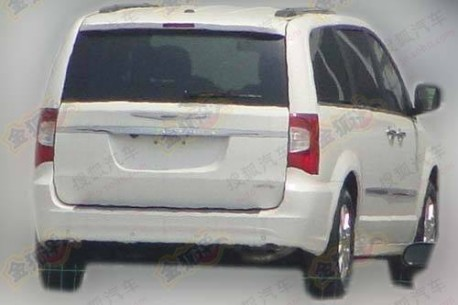 Chrysler Voyager testing in China