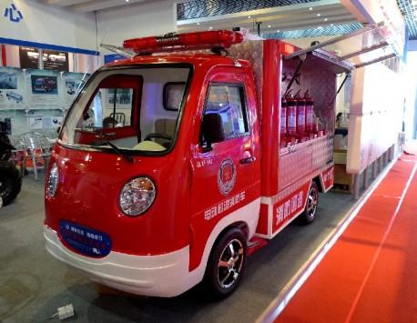 Anfuer Mini Electric Fire Patrol Car