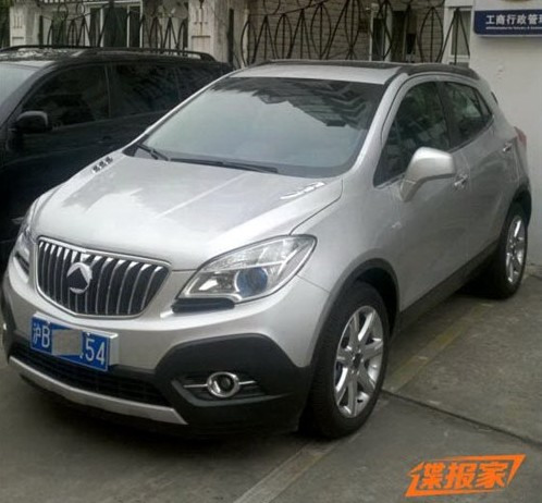 buick encore will be launched in china in november. Black Bedroom Furniture Sets. Home Design Ideas