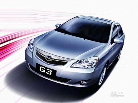 New BYD G3