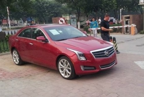 Cadillac ATS arrives in China