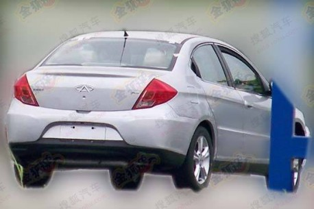 Chery A3 in China
