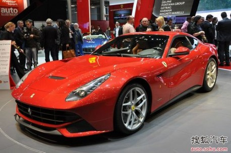 Ferrari F12berlinetta China