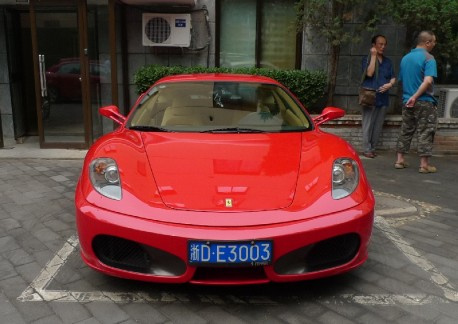 Spotted in China: Ferrari F430