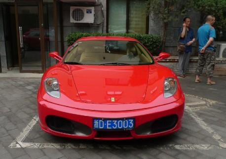 Spotted in China: Ferrari F430