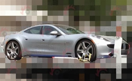 Fisker Karma arrives in China