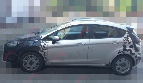 Ford Fiesta in China