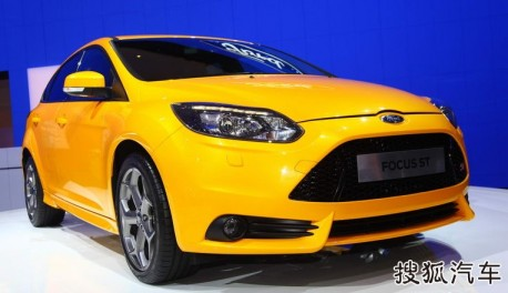Ford Focus ST testing in China