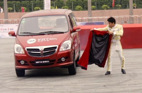 Fighting the Foton-bull in China