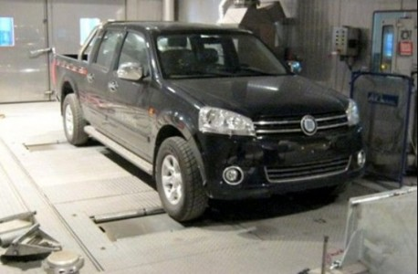 Hengtian Auto copies the Volkswagen Amarok in China