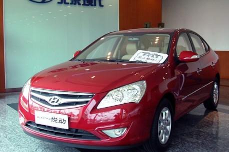 Hyundai Elantra Yuedong