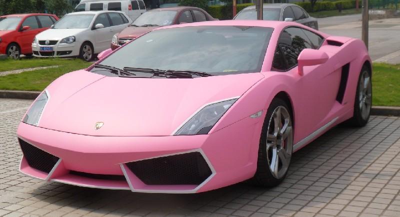 a very pink lamborghini gallardo from china - Lamborghini Black And Pink