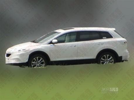 Mazda CX-9 testing in China