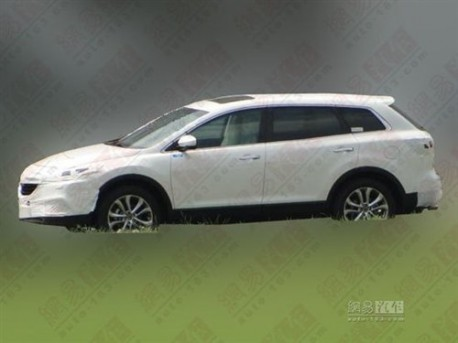 Mazda CX-9 testing in China