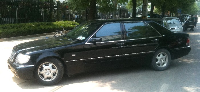 Spotted in china a perfect mercedes benz s600 w140 for Mercedes benz china