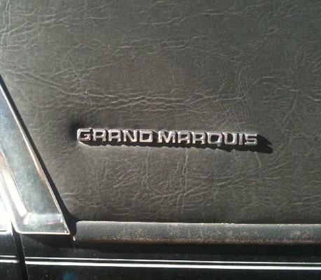 Mercury Grand Marquis (first generation)