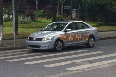 Spy Shots: new Volkswagen Santana without camouflage in China