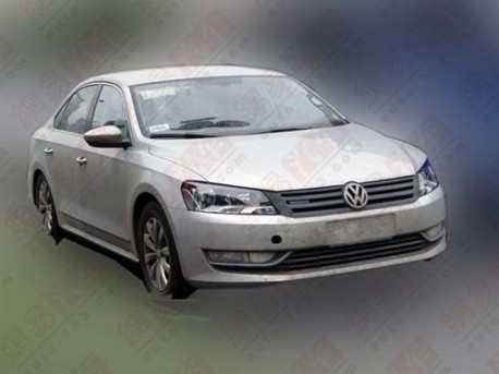 Volkswagen Passat Bluemotion testing in China