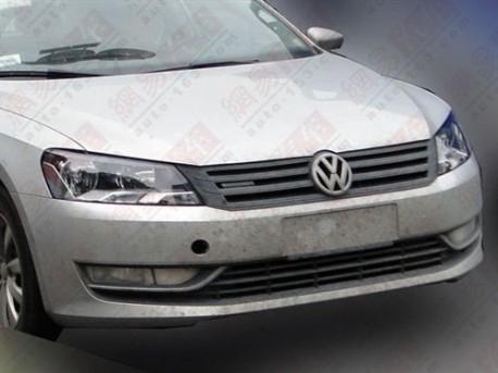 Volkswagen Passat Bluemotion testing in China