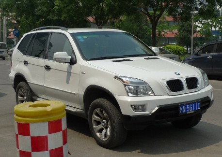 Shuanghuan SCEO thinks it is a BMW X5