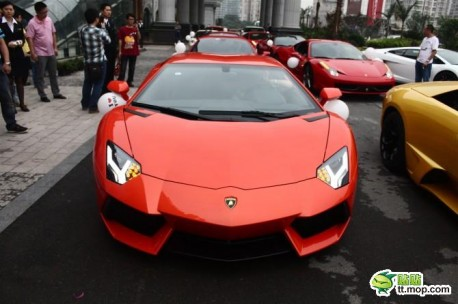 Supercar Wedding in China