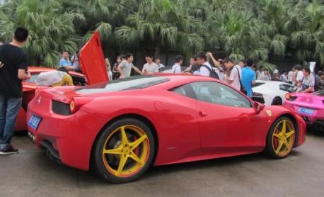 Super cars in China