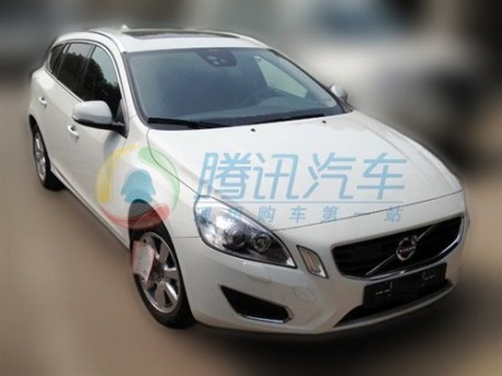 Volvo V60 T5 gearing up for China