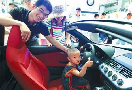 China car sales up 5.6%