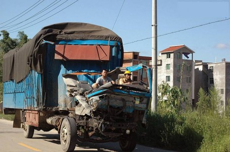 Chinese trucks are indestructible