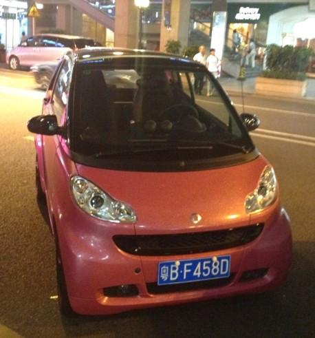 Smart ForTwo goes Pink in China