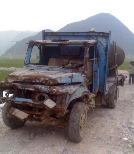 Chinese trucks are Really indestructible