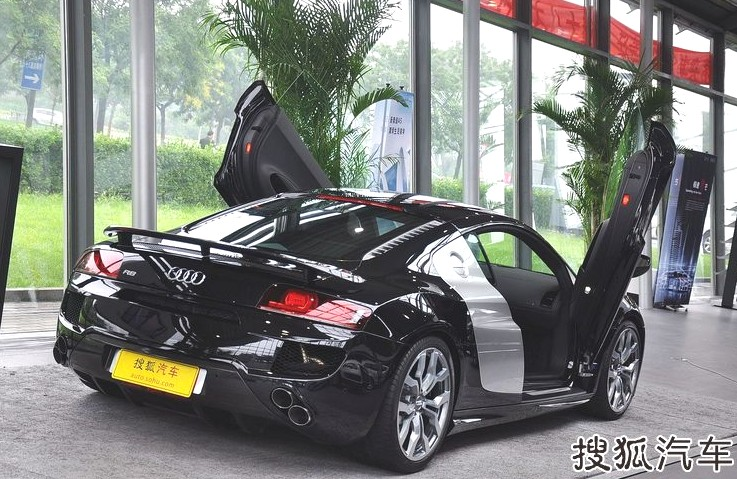 ABT Audi R8 V10 with Lambo,doors in China , CarNewsChina.com