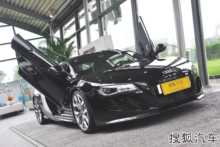 ABT Audi R8 V10 with Lambo-doors in China & ABT Audi R8 V10 with Lambo-doors in China - CarNewsChina.com