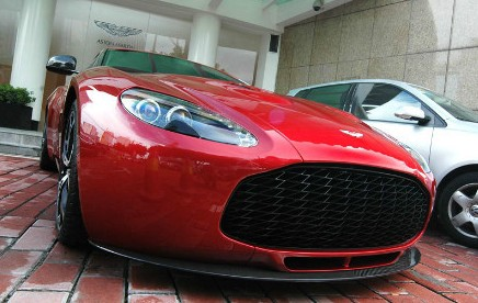 Aston Martin V12 Zagato pops up at a dealer in China