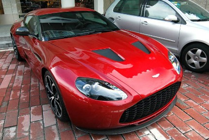 Aston Martin V12 Zagato pops up at a dealer in China