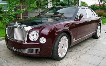 Spotted in China: Bentley Mulsanne Diamond Jubilee Edition ...