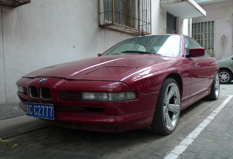 Spotted In China BMW 850i